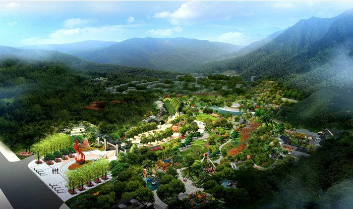 遂宁市安居区凤凰山森林公园.